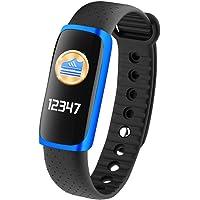 Uhruolo Smart Watch Con Cardiofrequenzimetro, Pedometro Impermeabile Fitness Tracker Orologio Per Bambini Donne Uomini Impermeabile Tracker Attività