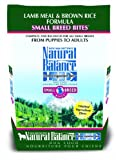 Natural Balance Limited Ingredient Diets Small Breed Bites Dry Dog Food - Lamb Meal and Brown Rice Formula - 4.5-Pound