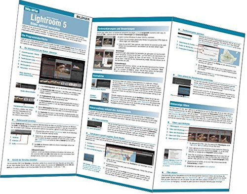 Lightroom 5 - Bilder optimal verwalten