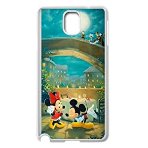 Mickey's Magical Christmas Snowed in at the House of Mouse Samsung Galaxy Note 3 Cell Phone Case White Fcagu