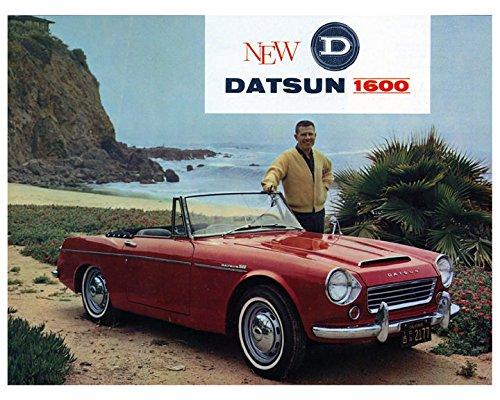 Datsun 1600 Roadster >> Amazon Com 1966 Datsun 1600 Roadster Factory Photo