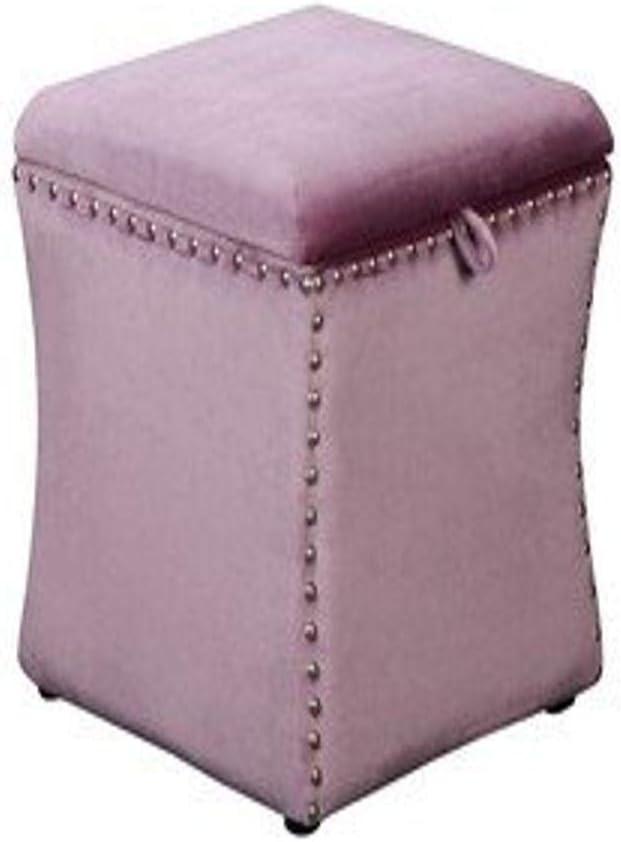 Pangea List price Home Z OTT Violet Ferris in Velvet Storage Choice Ottoman