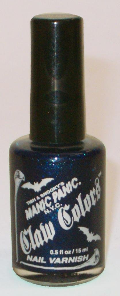 Manic Panic Claw Colors Nail Varnish After Midnight 15ml: Amazon.co ...