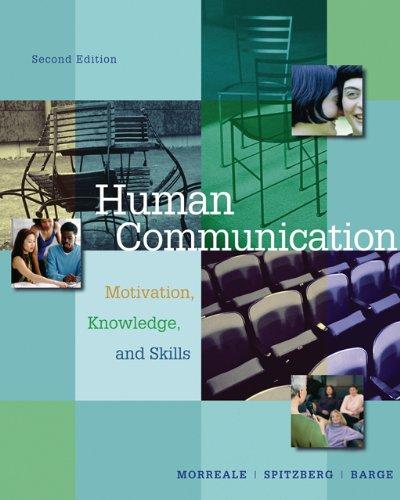Human Communication: Motivation, Knowledge, Skills