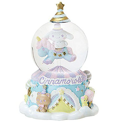 SANRIO Cinnamoroll Beautiful Small Snow Globe Japan Special Collection