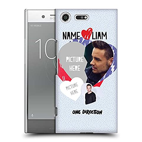 Custom Customized Personalized One Direction 1D Love Liam I Ship Us Hard Back Case for Sony Xperia XZ (Us Premium Hcg)