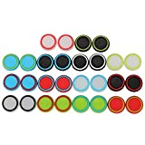 xbox 360 4g console - eJiasu 14 Pairs/28 Pieces Universal Silicone Analog Stick Joystick Thumb Stick Grips Caps Cover for PS4 PS3 PS2 Xbox One/360 Game Controller (14 Pairs)