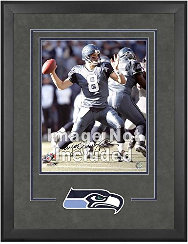 Seattle Seahawks Deluxe 16x20 Vertical Photograph Frame by Mounted Memories