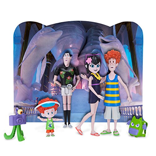 Hotel Transylvania Figures with Backdrop, Boo Voyage! -