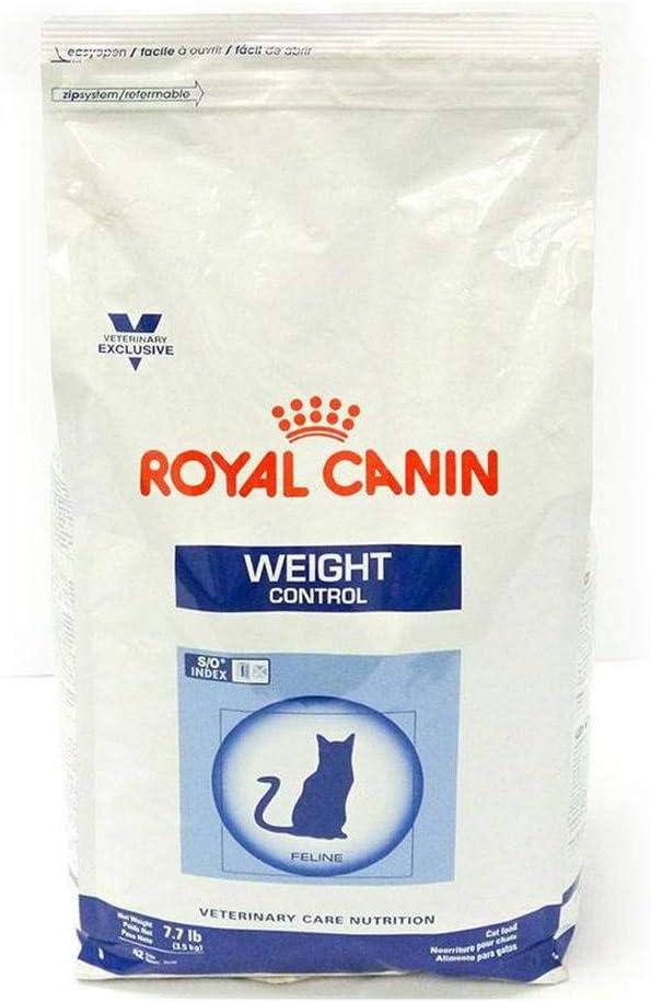ROYAL CANIN Feline control de peso seco comida para gatos 7.7-lb ...