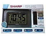 sharp atomic - Sharp Digital Atomic Wall Clock - Gray