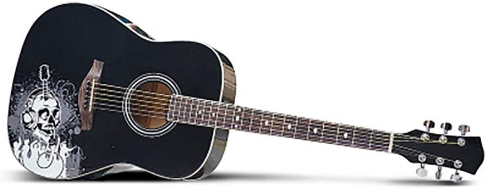NUYI Guitarra Folklórica 41 Pulgadas Sonido Mágico Hombres Y ...
