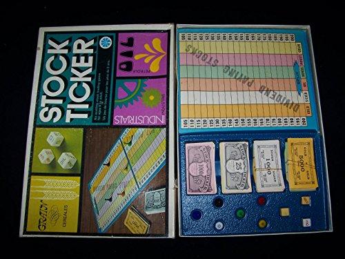 Stock Ticker Board Game By Copp Clark