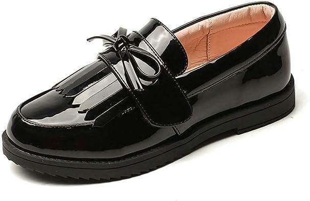ANYUNIS Girl's School Uniform Loafer