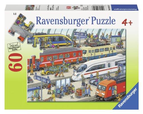 Ravensburger Railway Station Puzzle 60 Piece product image