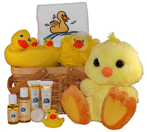 Lucky Ducky Baby Spa Gift Basket - Small