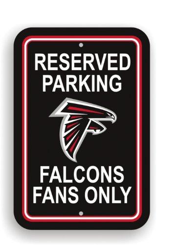NFL Atlanta Falcons Plastic Parking Sign