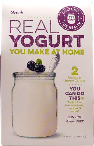 Cultures For Health Real Yogurt Starter Culture Greek -- 2 Packets