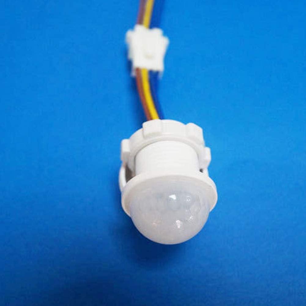 LED Sensible iluminaci/ón Interior Sensor de Movimiento por Infrarrojos Interruptor PIR PURATEN Detector de Movimiento por Infrarrojos