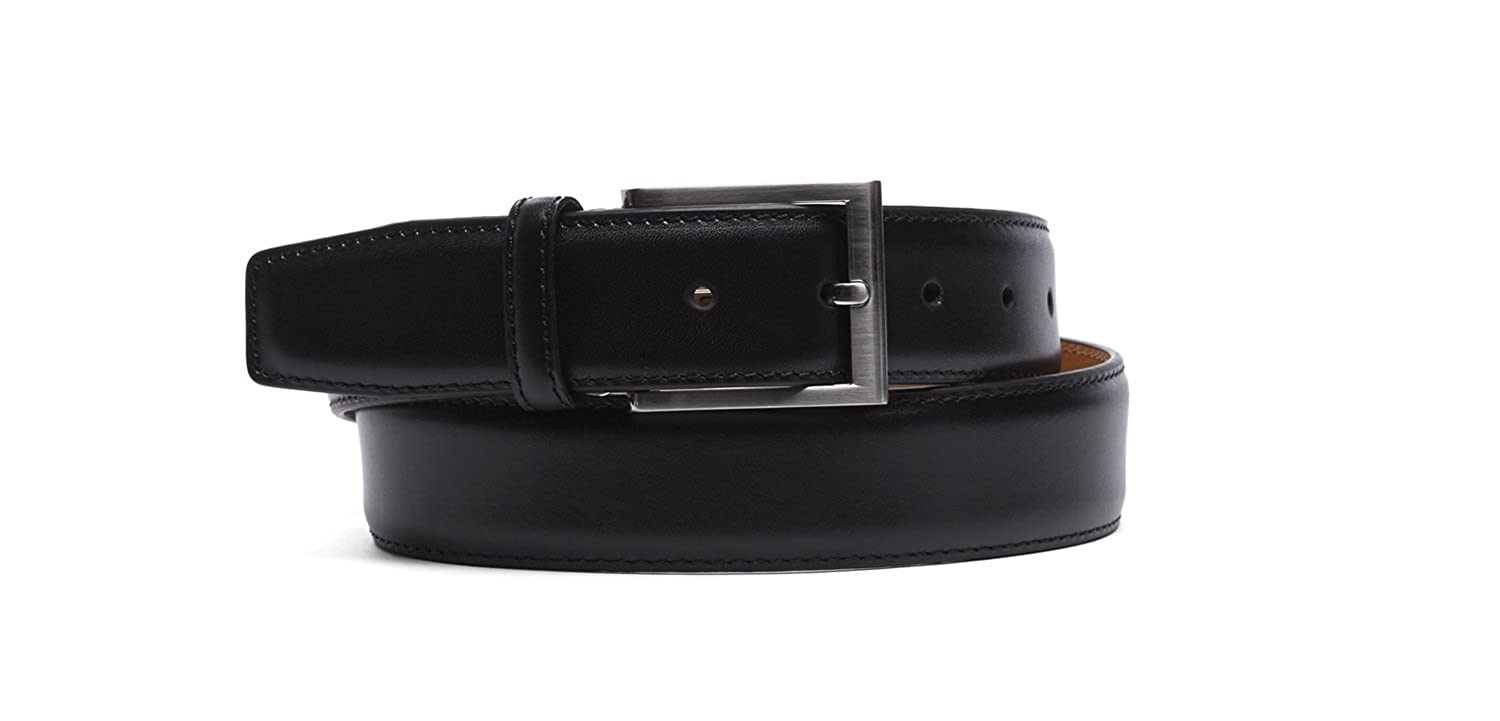 Magnanni Guodi Black Men's Leather Belt