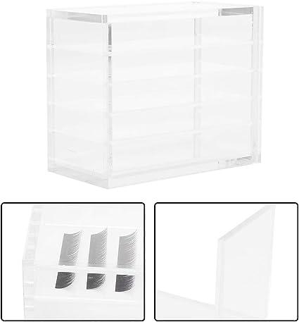 Organizador de pestañas - Caja de almacenamiento de pestañas ...