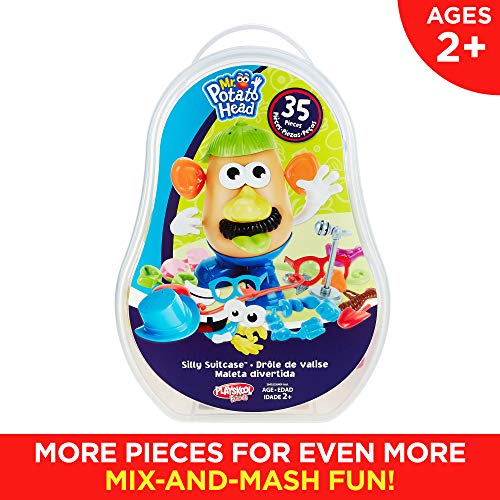 51BQOXeMBmL - Playskool Mr. Potato Head Silly Suitcase Parts and Pieces Toddler Toy for Kids (Amazon Exclusive)