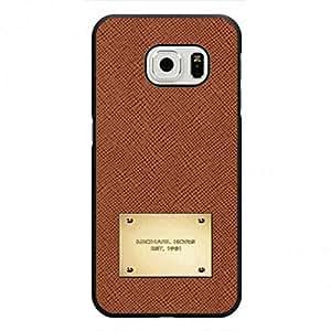 Simple Design Phone Funda Cover For Samsung Galaxy S6Edge,Custom Luxury Brand Michael Kors Mk Pattern Samsung Galaxy S6Edge Plastic Phone Funda Cover