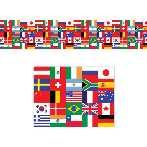 Beistle 57386 International Decorating Material