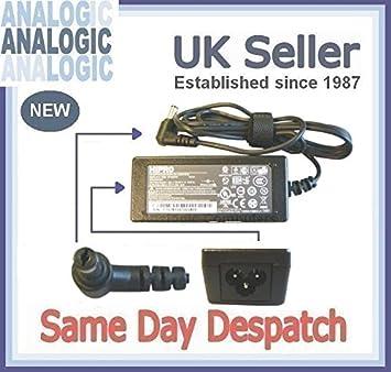 Delta Original adaptador de corriente para ordenador portátil Toshiba Satellite L505 - 14U 19 V 4.74 A 90 W 2.5 mm Fuente de alimentación de cargador: ...