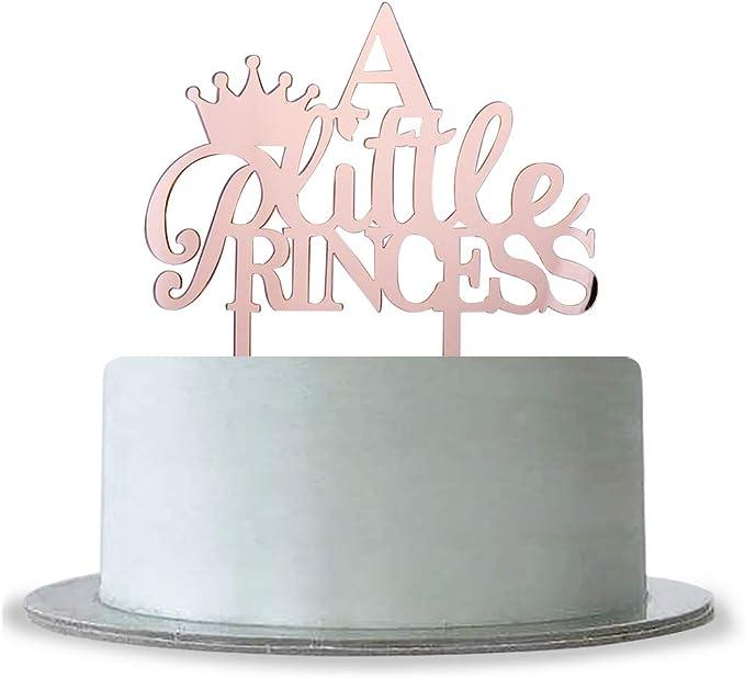 Amazon.com: Espejo de oro rosa, una pequeña princesa con ...