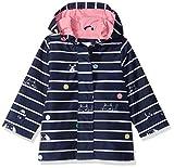 Carter's Toddler Girls' Her Favorite Rainslicker Raincoat, Navy Stripe, 4T