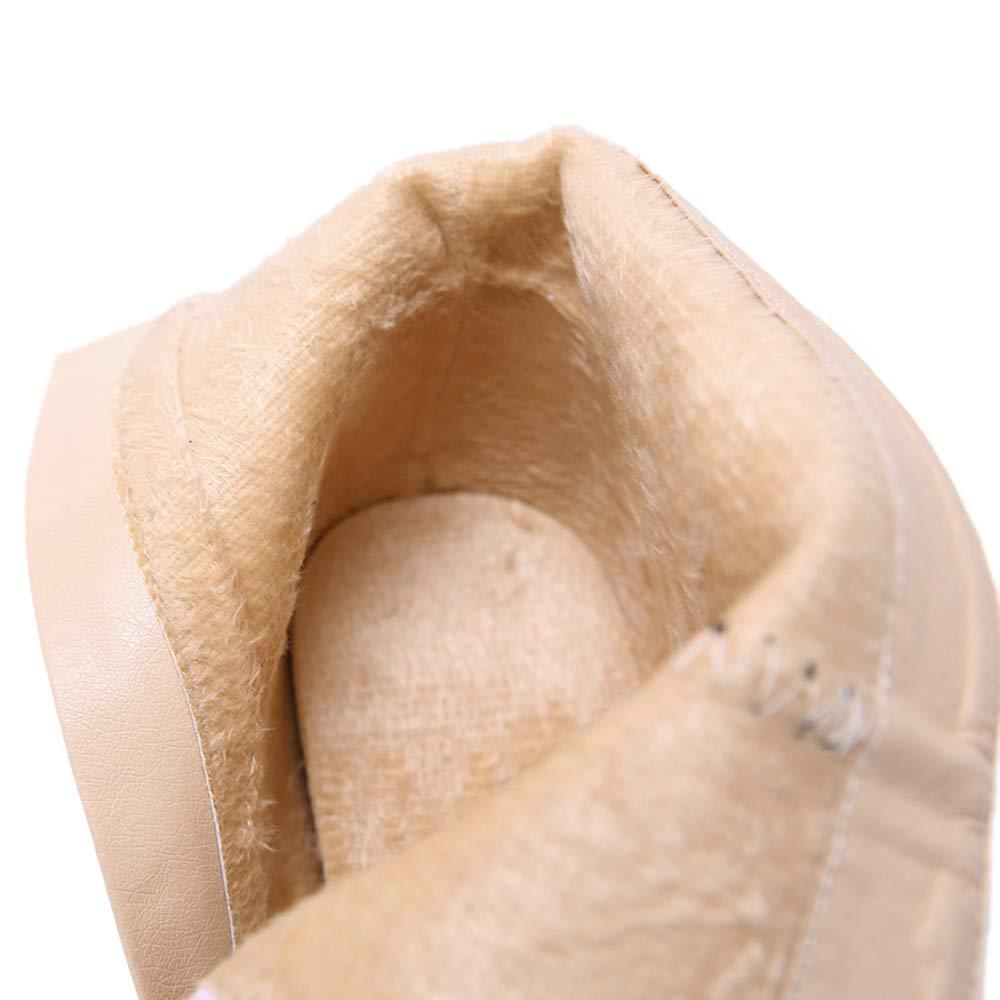 CITW Stivali Donna Autunno E Inverno Appuntito Stivali Donne Donne Donne Sexy Stiletto Stivali di Pelle di Grandi Dimensioni Stivali Donna di Moda,nero,UK5 EUR39 f96831