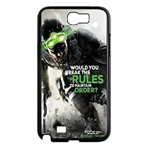 Samsung Galaxy N2 7100 Cell Phone Case Black Splinter Cell Blacklist Your Rules Your Way LV7929995