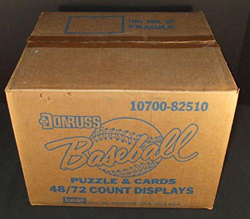 1988 Donruss Baseball Blister Rack Case 72/48