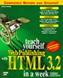 Teach Yourself Web Publishing with HTML 3.2 in a Week, Laura Lemay, 1575211920