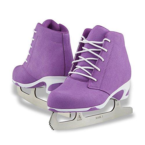 Jackson Ultima Recreational Women's Figure Ice Skates Softec Diva DV3000 / Color: Purple, Adult Size: - Skates Figure Recreational