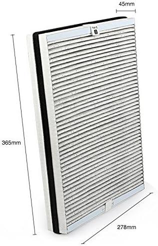 NTNT Pour Philips AC4147 / 10 Filtre à air ultra-efficace pour Philips AC4072 / 11