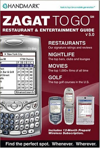Zagat to Go Restaurant & Entertainment Guide V5.0 (Zagat) (Zagat) (Zagat Guides) by Zagat Survey