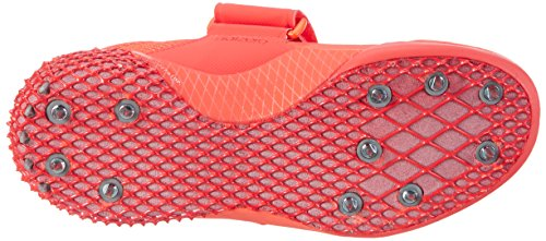 adidas Adizero Javelin, Zapatillas de Atletismo Unisex Adulto, Multicolor Rojo (Solar Red/ftwr White/silver Metallic)
