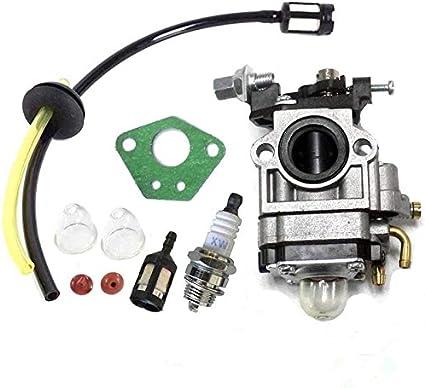 Queta para carburador para Motor de desbrozadora 52 CC 49 CC 43 CC ...