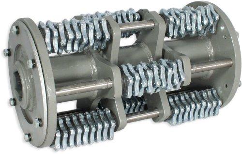 5 pt Carbide Flail Cutter Complete Drum Kit for Von Arx VA25 Scarifier/Concrete Planer - General Setup