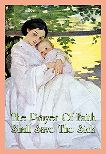 Buyenlarge The Prayer of Faith Shall Save The Sick - Gallery Wrapped 28''X42'' canvas Print., 28'' X 42'''' by Buyenlarge