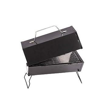 Kehuitong Barbacoa Mini Exterior Carbón vegetal 2 Hogares 3 ...