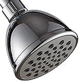 High Pressure Head Shower-1 Function Ellegant Rainfall Shower Head (Chrome )