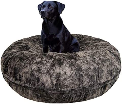 BESSIE AND BARNIE Signature Koala Luxury Extra Plush Faux Fur Bagel Pet Dog Bed Multiple Sizes