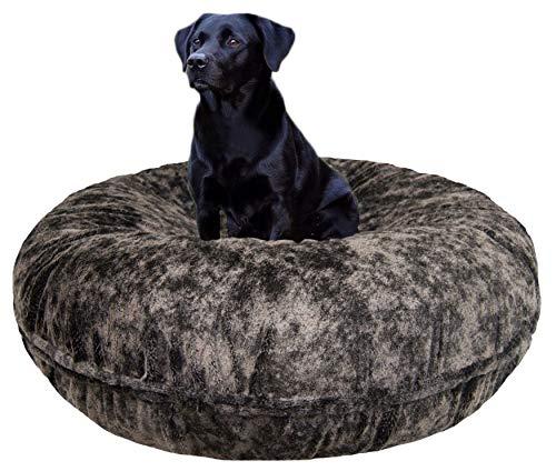 BESSIE AND BARNIE Signature Koala Luxury Extra Plush Faux Fur Bagel Pet/Dog Bed (Multiple Sizes)