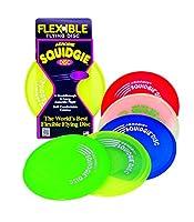 Schildkröt Funsports Aerobie Squidgie, rot, grün, blau, orange, lime, pink,...