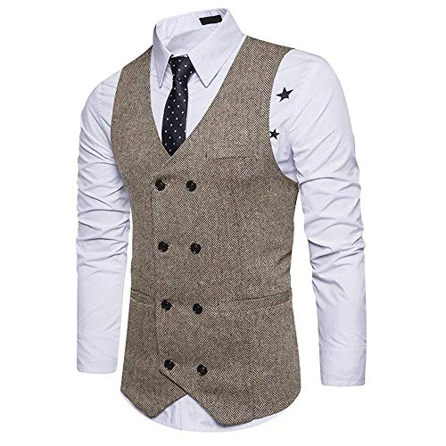 Smart Business Slim Giovane Uomo Da Gilet Vest Abito Suit Solenne Magro Yasminey Sposa Bianca Fit Giacca nwf0XzRqwx