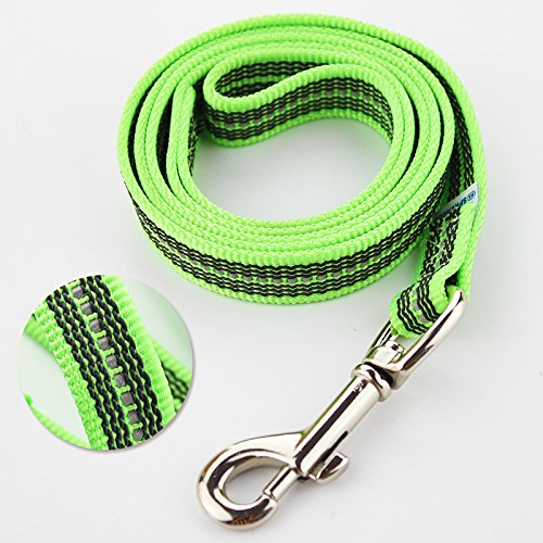 Green120cm DLwbdx Anti-skid training traction rope 1m 1.2m with reflective strip,green120cm