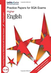 PRACTICE PAPER H ENGLISH (Sqa Practice Papers)